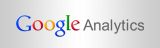 Logo Google Analytics farbig